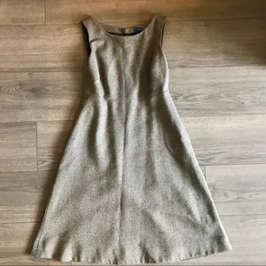 J. Crew Wool Tweed Dress